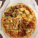 ドミノ・ピザのLサイズを一人で食す暴挙に