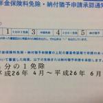 国民年金免除申請承認通知書届くの遅すぎィ!!!!