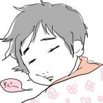 朝寝はまだ必要なようです。