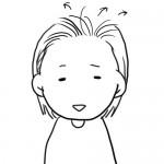 産後の抜け毛…してました