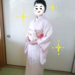 江坂駅から徒歩4分『秀きもの着付』の渡辺先生に着付けをしていただきました。