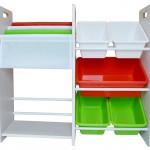 子ども用おもちゃ箱にMAMENCHI 玩具箱&本棚 イタリアカラー
