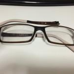 眼鏡のフレームが壊れました